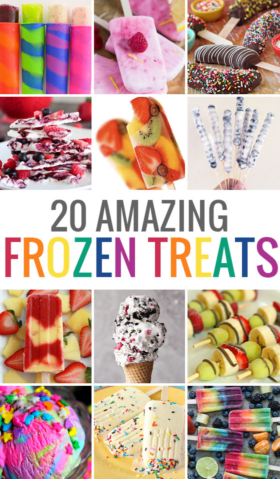 20 Amazing frozen treats to make at home