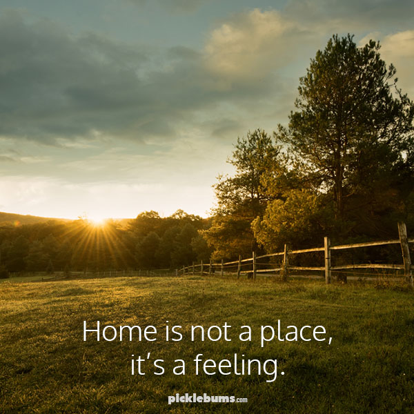 'Home is not a place, it's a feeling' - and making a place to come home to is the best thing I can do for my teenagers