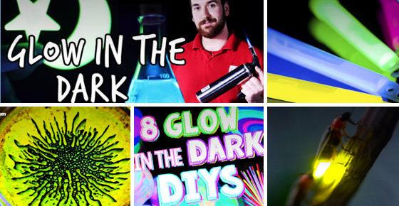 Ten Cool, Kid-friendly, Glow in the Dark Videos