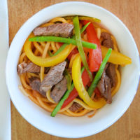 Easy Beef and Veggie Stir Fry - a family friendly dinner you can have on the table in 15 minutes