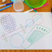 Object Tracing – An easy drawing activity for all ages