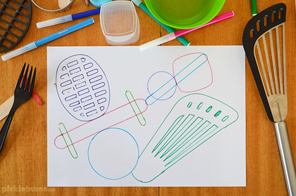 Object tracing - an easy drawing activity that works for multi ages