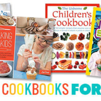 Get the kids in the kitchen with these cool kid's cookbooks