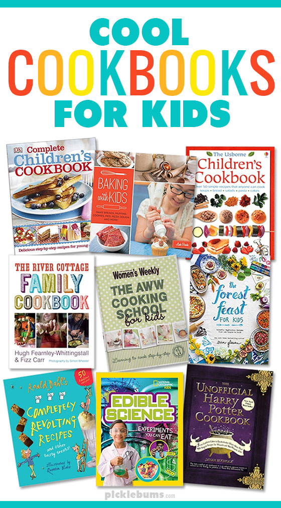 Get the kids in the kitchen with these cool cookbooks for kids