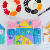 My House Drawing Prompt – free printable