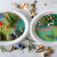 Play Plates – quick and easy imaginative play.