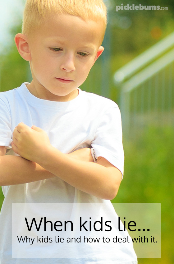 What to do when your child lies - Why kids lie and how to deal with it
