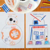 Build a Droid – Star Wars Party Printable