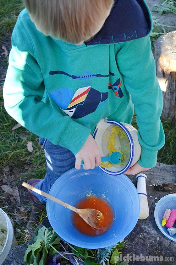 Magic Potion Gardens - what plants to grow and other awesome items to add to this fun outside imaginative play.