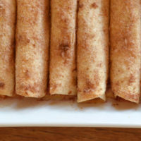 Apple and Berry Taquitos