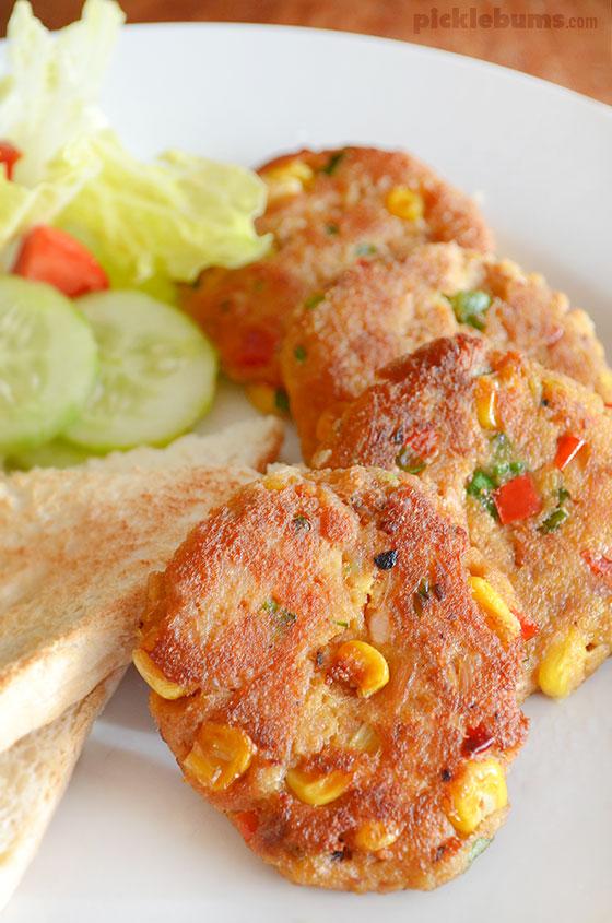 Easy and delicious tuna patties