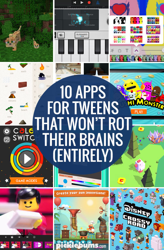 Ten apps for tweens that won't rot their brains (entirely)