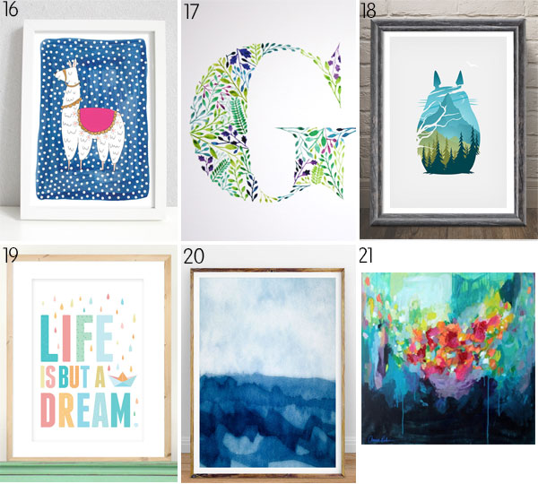 Things To Hang On Walls 20 cool things to hang on your walls - picklebums