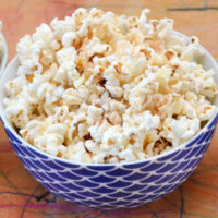 Flavoured Popcorn – so easy the kids can make it!
