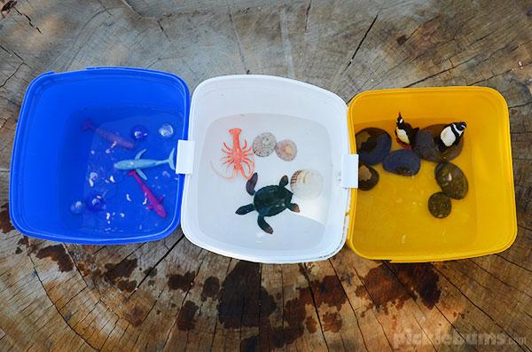 Easy sensory play ideas - easy water play