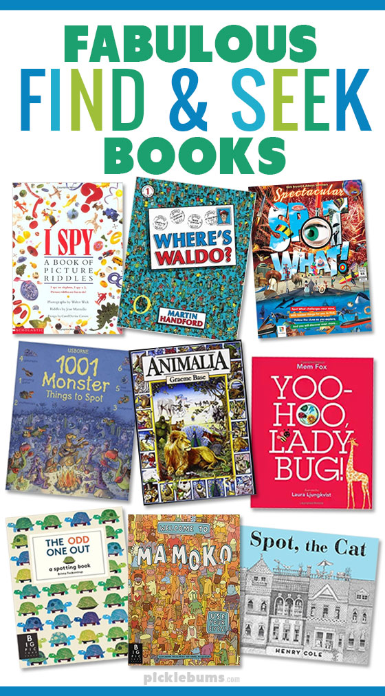 Fabulous find and seek books for kids!