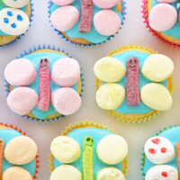 Make these simple butterfly cupcakes with the kids
