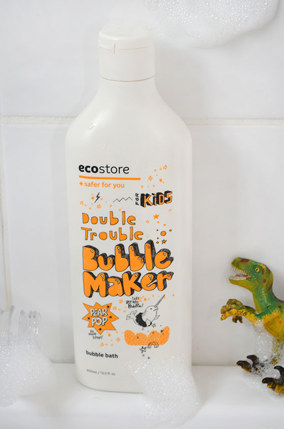Make bath time fun with ecostore bubble bath and these four bubbletastic ideas.