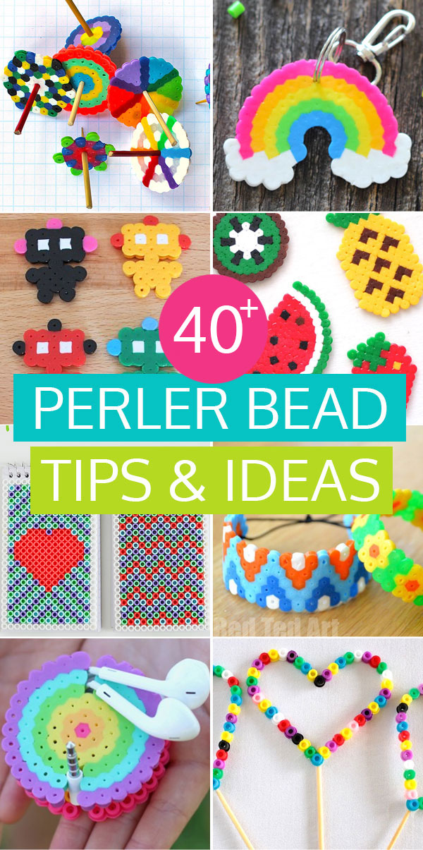 40 of the best Perler bead ideas and tips to keep the kids buy for days!