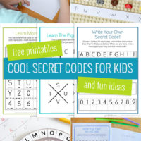 Cool secret code ideas for kids