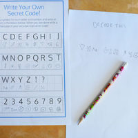Cool Secret Codes For Kids – Free Printables