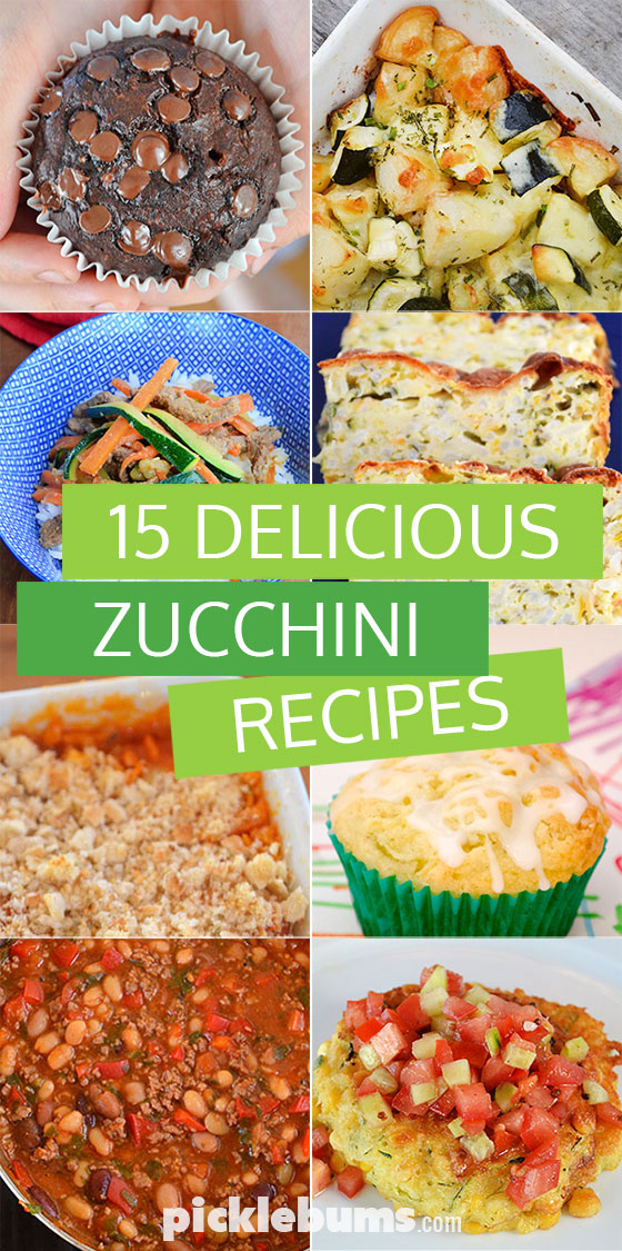 15 zucchini recipes to try