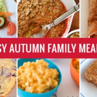 20 Easy Autumn family meals