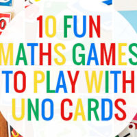 Ten fun maths games you can play with Uno cards
