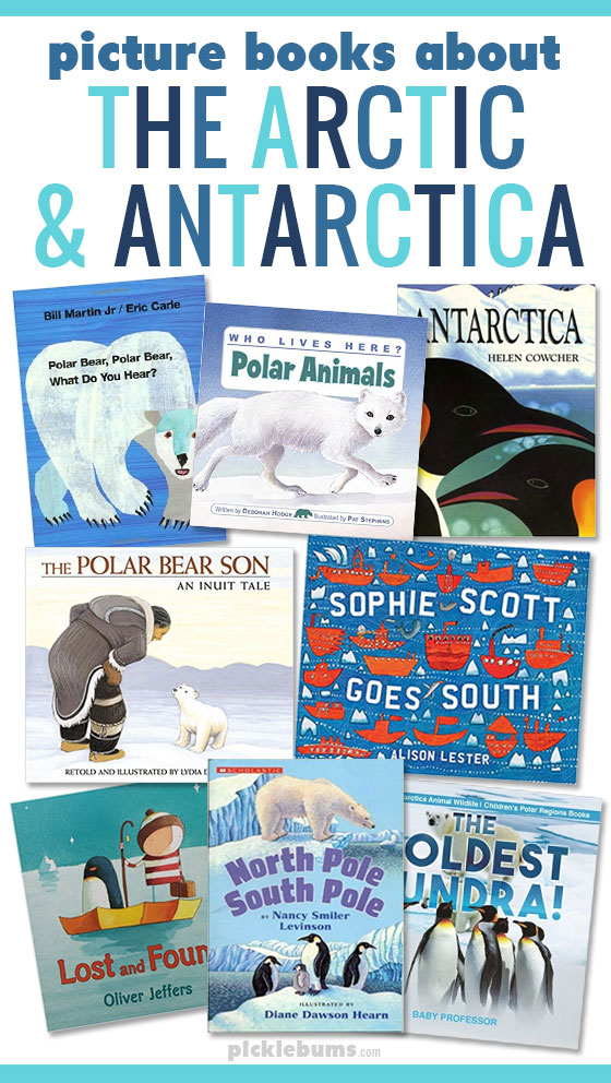 Picture books about the arctic and antarctica