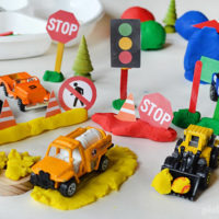 City Play Dough Activity: Plus Free Printable Accessories