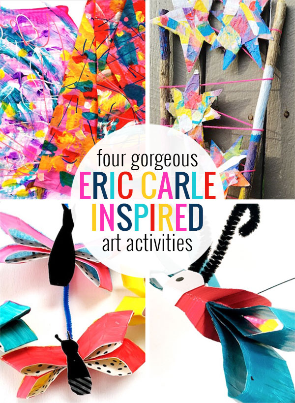 Eric Carle Tissue Paper Art Projects