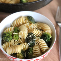 Broccoli and Garlic Pasta – a quick and easy family dinner