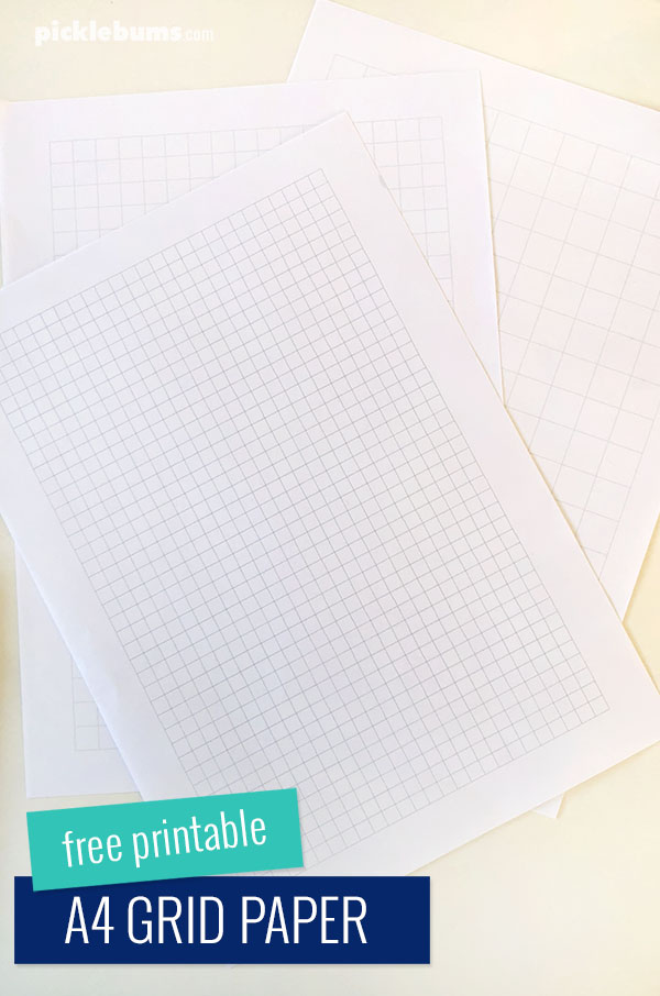 Free printable grid paper - for art and other activities