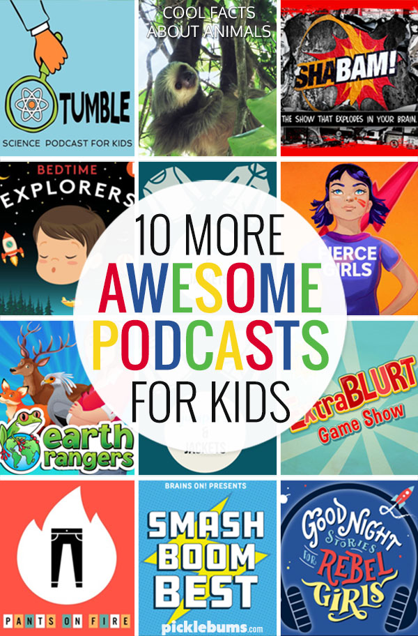 Awesome podcasts for children! - ten great podcasts for kids aged 3+