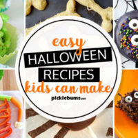 Easy Halloween recipes kids can make