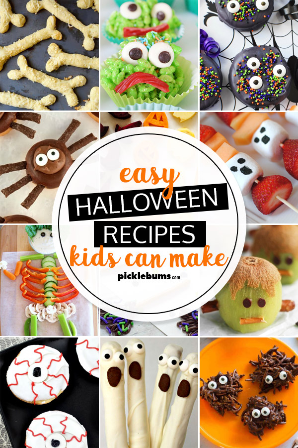 Easy Halloween Recipes Kids Can Make , Picklebums
