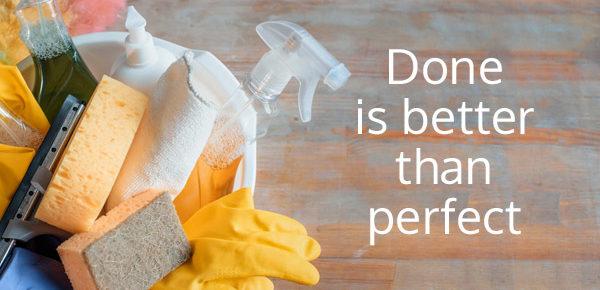 Six Tips to Make Housework Easier.