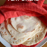 Quick and Easy Flat Bread.