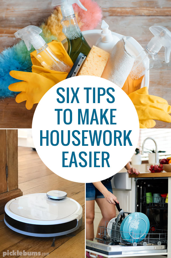 six tips to make housework easier