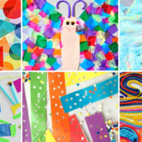20 Fun Contact Paper Crafts and Activities