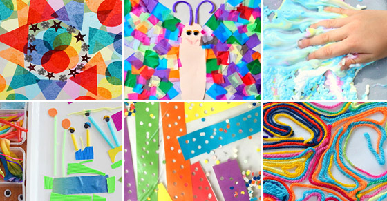 20 Fun Contact Paper Crafts And Activities Picklebums