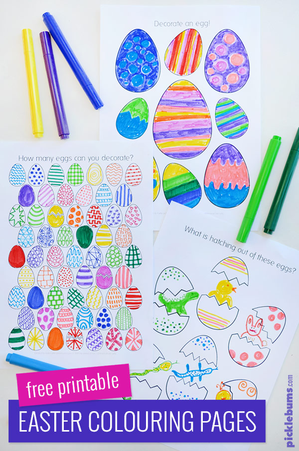 Free Printable Easter Colouring Pages