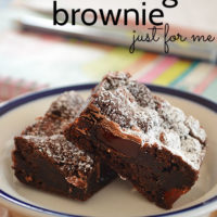 Turkish Delight Brownies