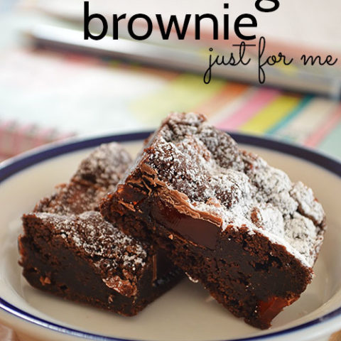 Turkish Delight Brownies