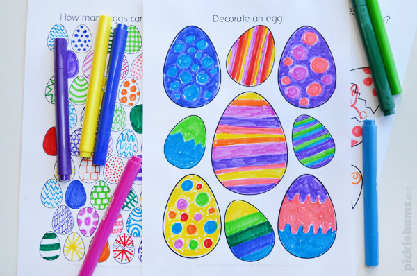 colouring pages free printable for kids