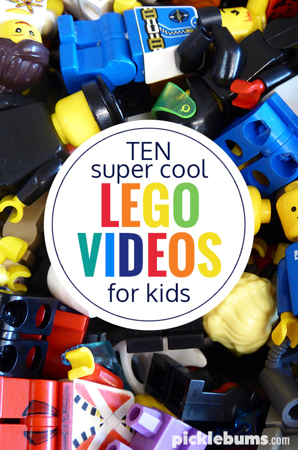 Ten super cool Lego videos for kids.