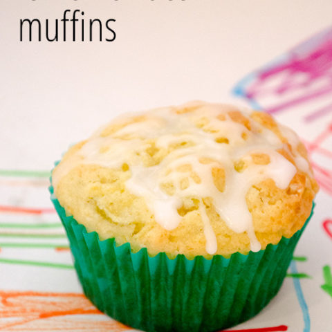 Lemon and Zucchini Muffins