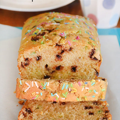 Chocolate Chip Sprinkle Bread