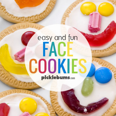 Easy Face Cookies