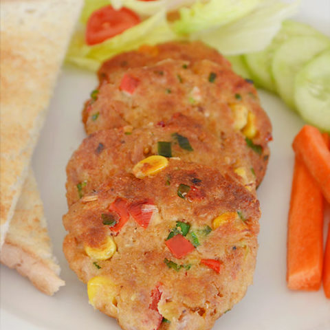 Kid-Friendly Tuna Patties